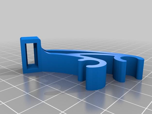 Prusa i3 驱动器 3D打印模型渲染图