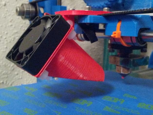 风管夹 3D打印模型渲染图