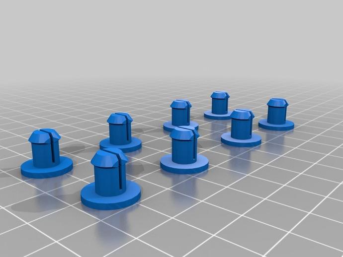 Replicator 2X适配器 3D打印模型渲染图