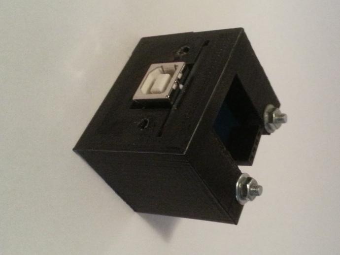 USB支架 3D打印模型渲染图