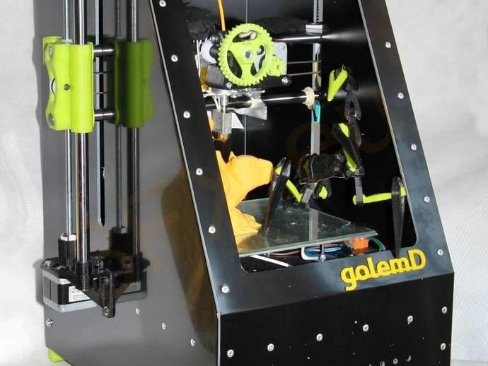 3d打印机外壳 3D打印模型渲染图
