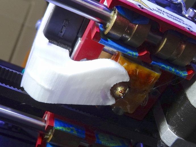 Replicator 2适配器 3D打印模型渲染图