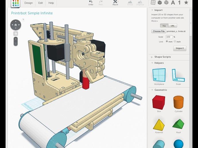 打印机齿轮 3D打印模型渲染图