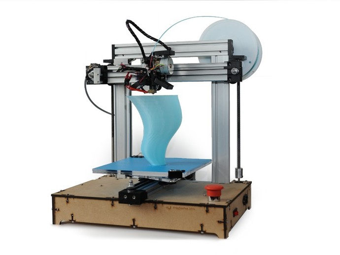 FreeDeePee 301e 3D打印模型渲染图