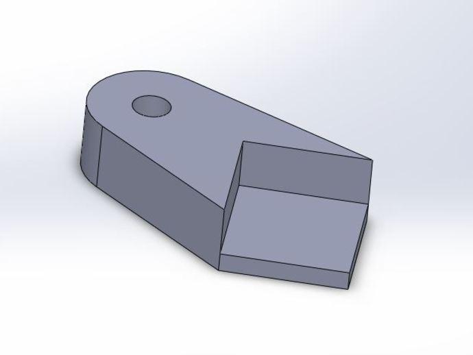 格拉斯夹 3D打印模型渲染图
