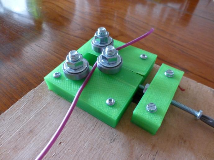 灯丝矫正器 3D打印模型渲染图