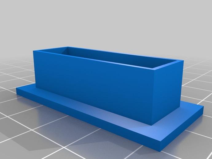 Raspberry Pi 适配器 3D打印模型渲染图