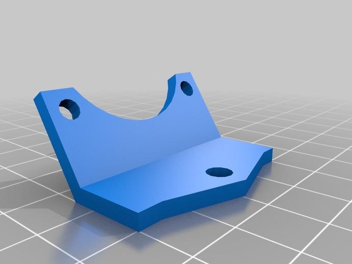 冷却风扇框架 3D打印模型渲染图