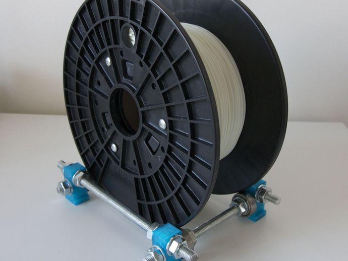 卷线轴 支架 3D打印模型渲染图