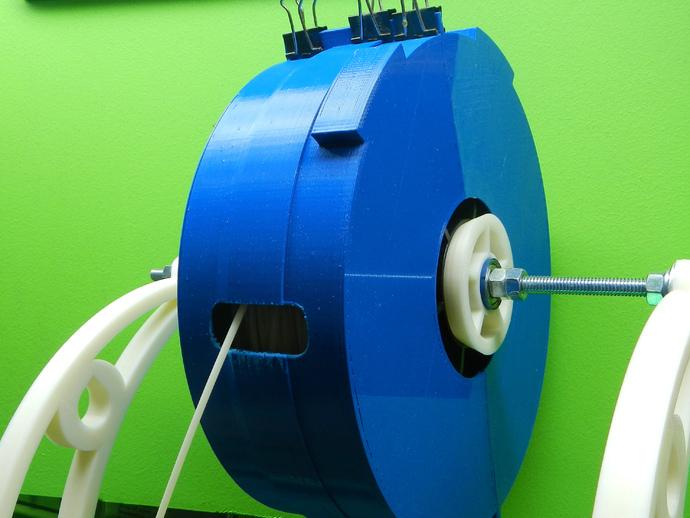 灯丝线轴存储器 3D打印模型渲染图