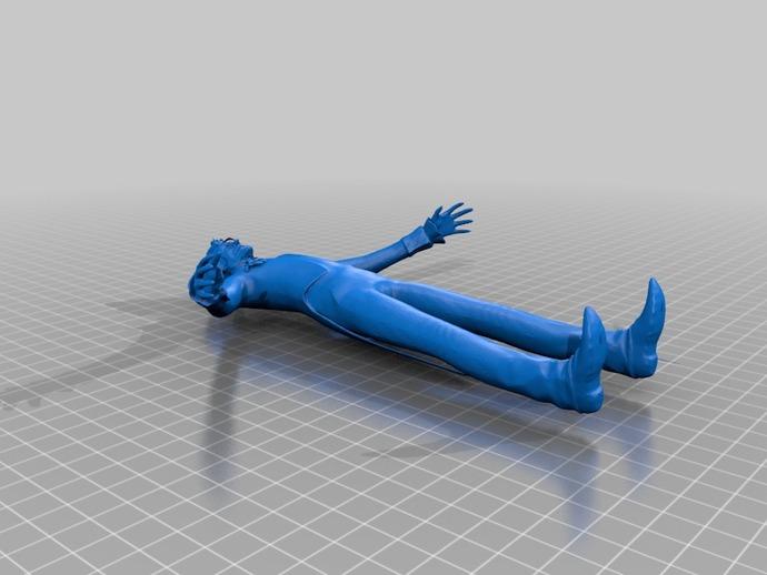 Joker摆件 3D打印模型渲染图