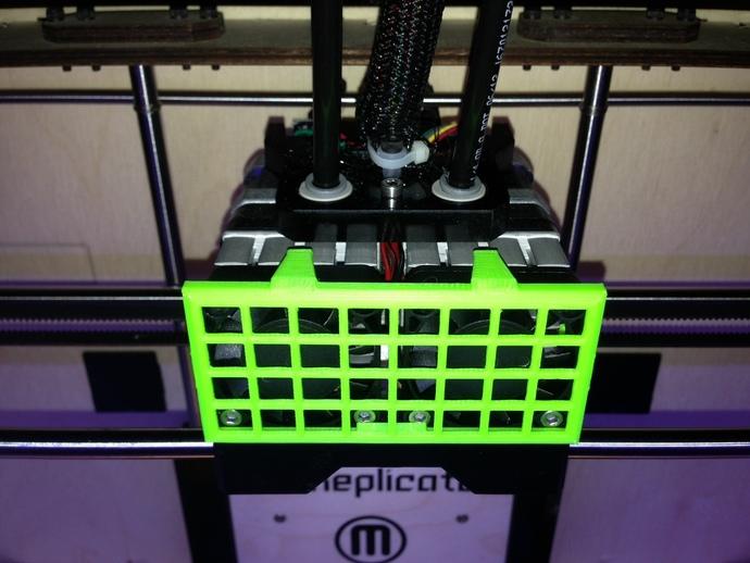 Replicator 1 Dual 打印机风扇罩