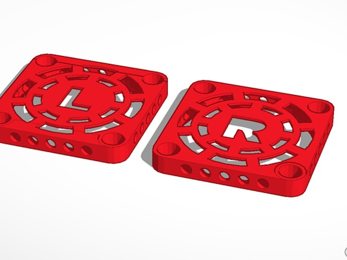 MakerBot Replicator 2X打印机风扇罩