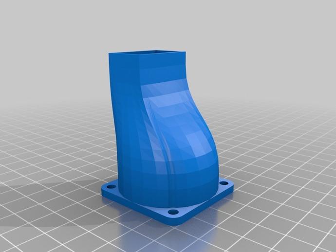 冷风机 3D打印模型渲染图