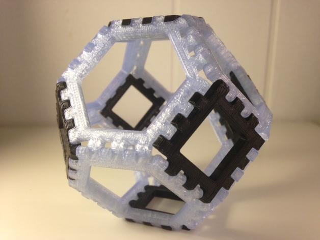 多边形图块 多面体