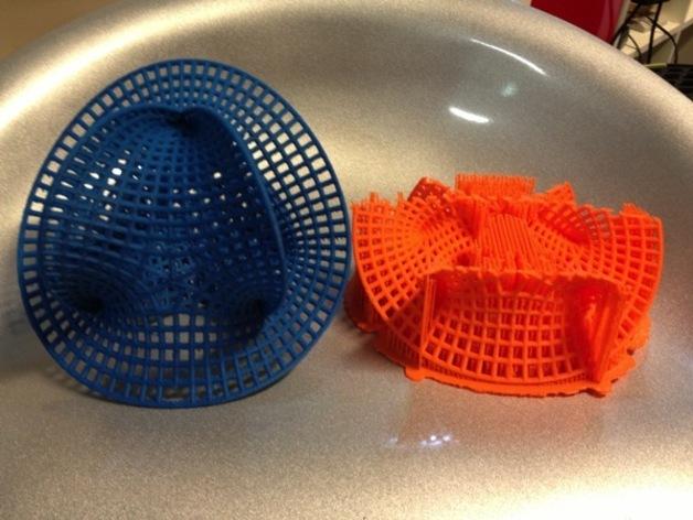 卡拉比 丘流形 模型 3D打印模型渲染图