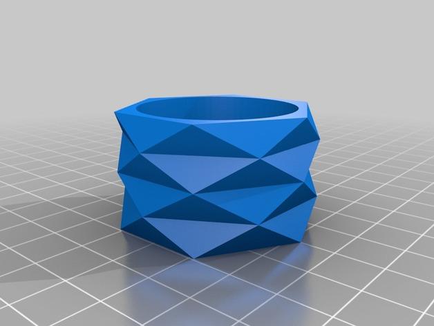 迷你餐巾环模型