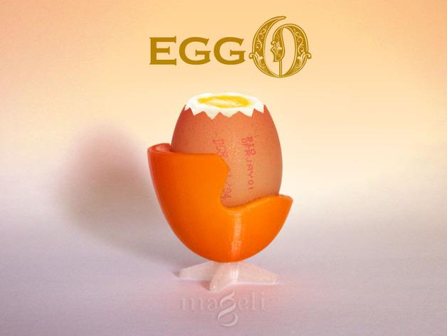 迷你蛋杯模型 3D打印模型渲染图