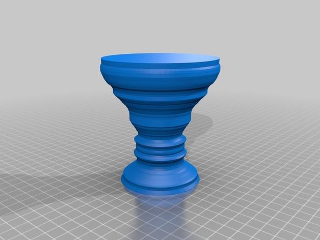 可定制化的酒杯模型
