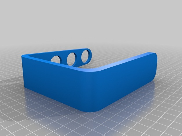 四孔牙刷架模型