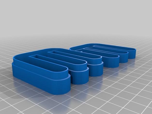 个性化糖果盒模型