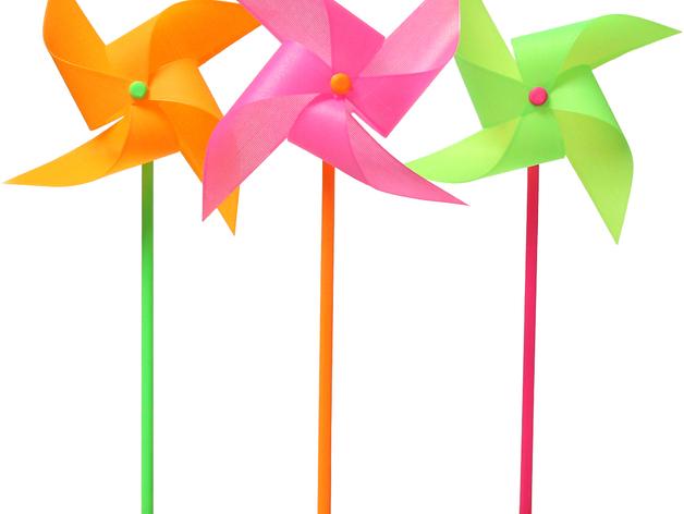玩具风车模型