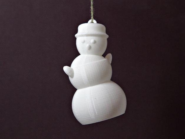 会跳舞的小雪人模型 3D打印模型渲染图