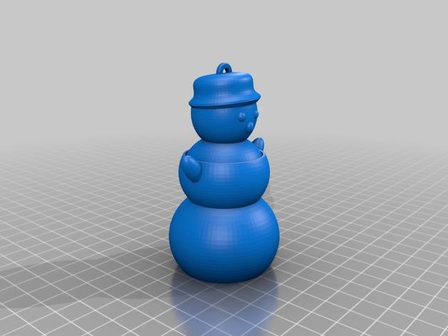 会跳舞的小雪人模型
