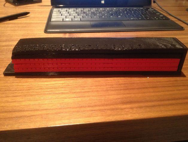 文具盒+铅笔套+伸缩尺