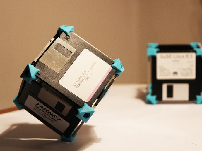 软盘建筑工具包模型 3D打印模型渲染图