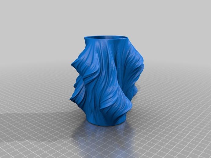 Julia花瓶模型#011