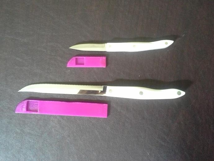 参数化厨房刀具保护套模型