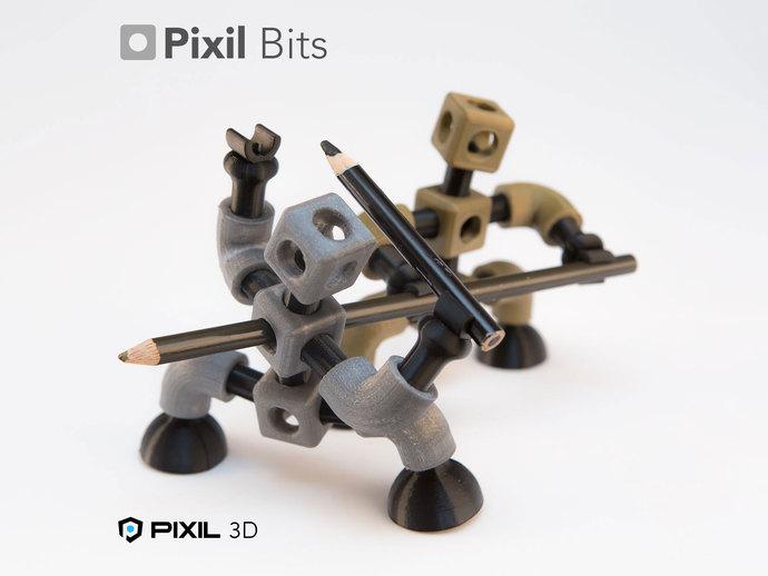 铅笔/手机架模型