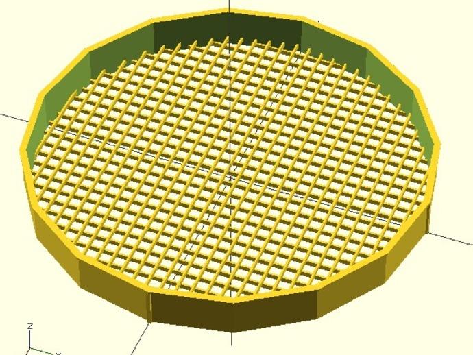 圆形过滤装置