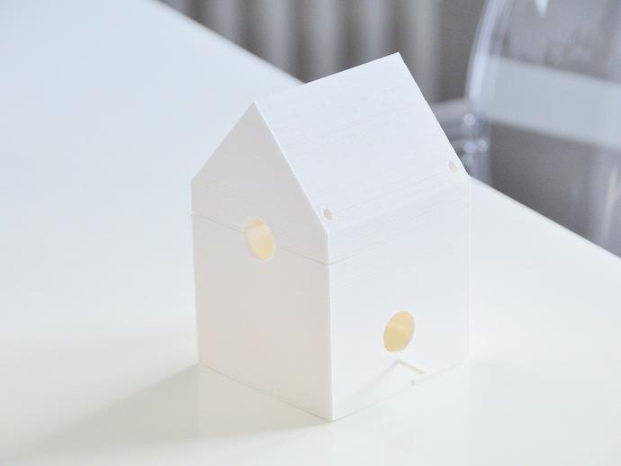 迷你鸟笼模型1 3D打印模型渲染图