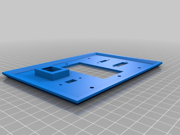 定制化壁装插座板