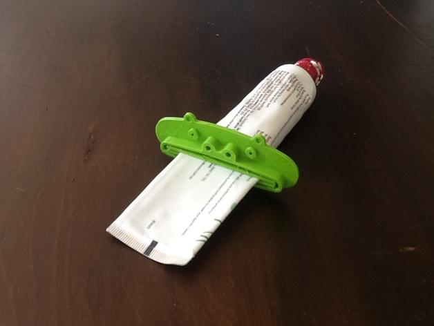 动物性牙膏挤出机模型