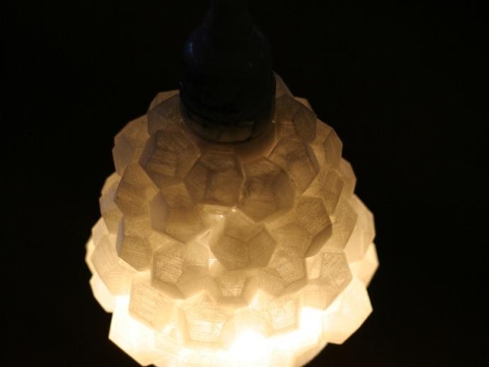 迷你几何形灯罩模型02