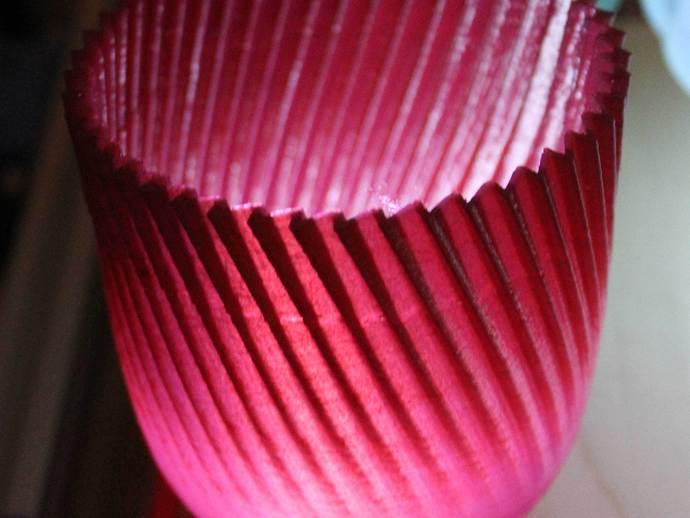 锯齿形花瓶模型