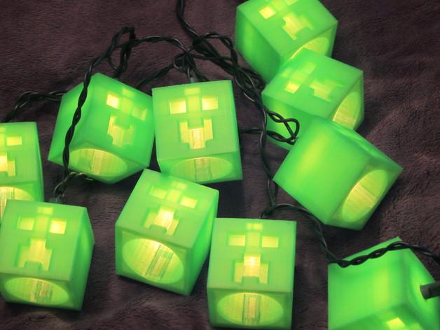 爬行者灯具模型 3D打印模型渲染图
