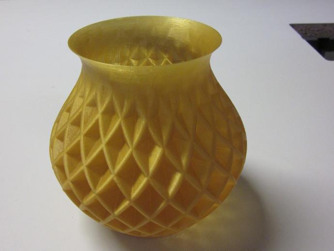 菱形花瓶模型