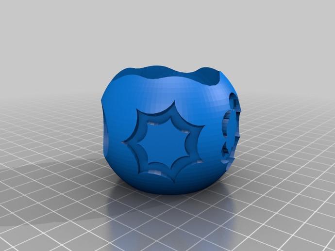 圆形容器模型