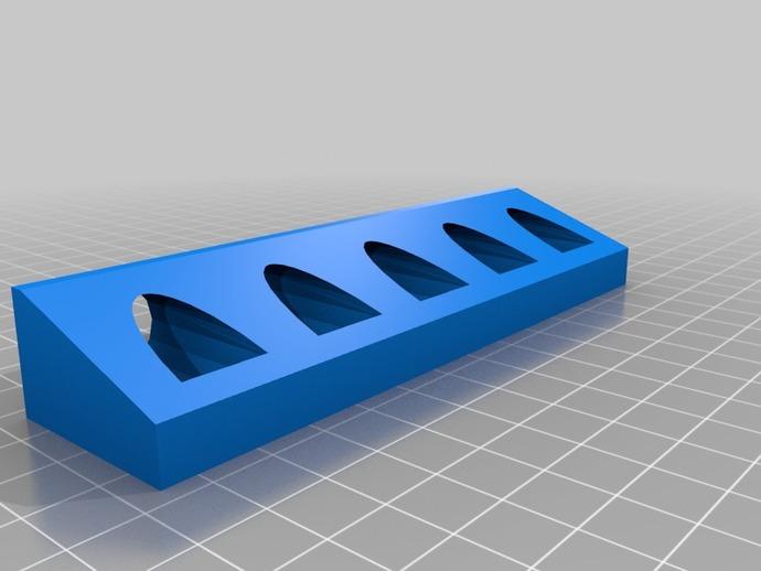 笔夹固定器模型