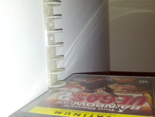 迷你DVD架模型