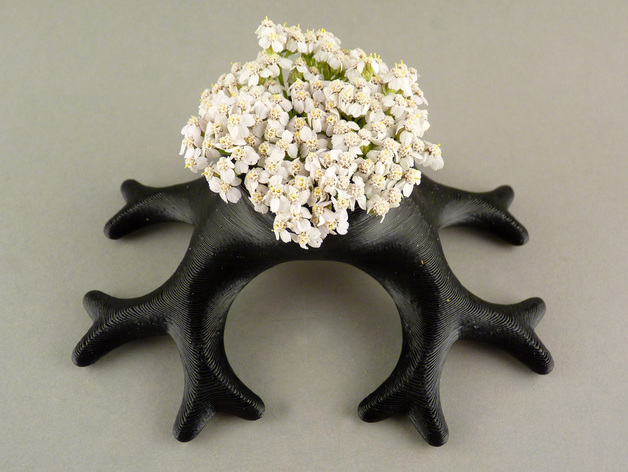 树根花瓶/花盆模型