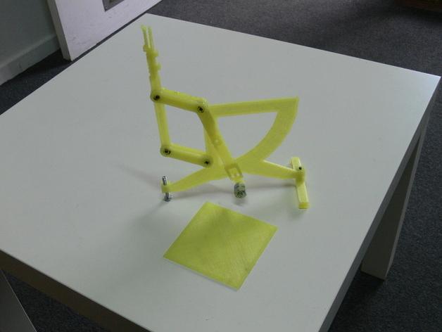 古典风格的信件磅秤模型 3D打印模型渲染图