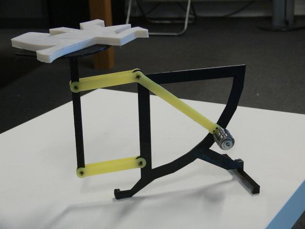 古典风格的信件磅秤模型