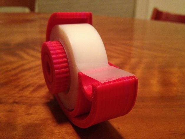 迷你胶带分割器模型 3D打印模型渲染图