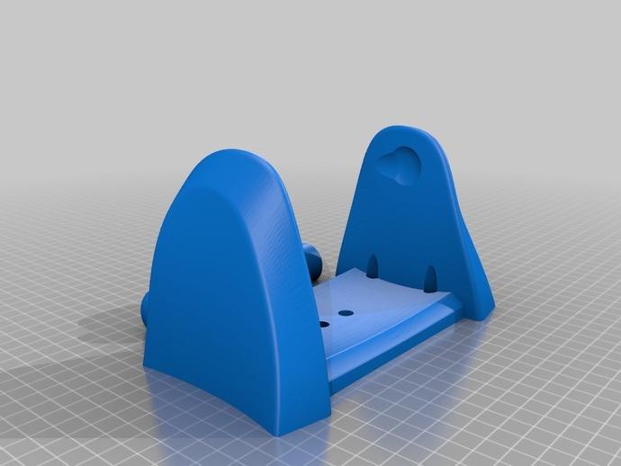 厕所卫生纸架模型