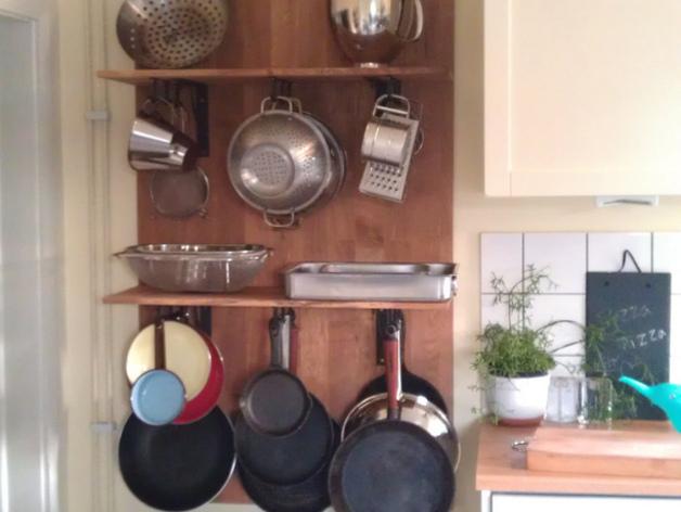 放置厨房用具吊钩模型 3D打印模型渲染图